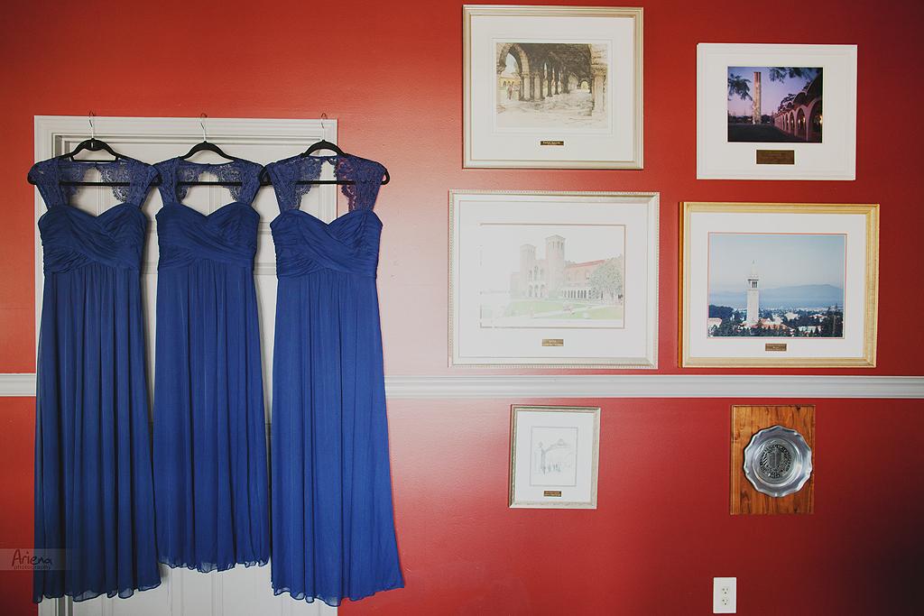 Union Lake summer wedding in boat house. Blue and yellow wedding colors. Badgley Mischka designer wedding shoes