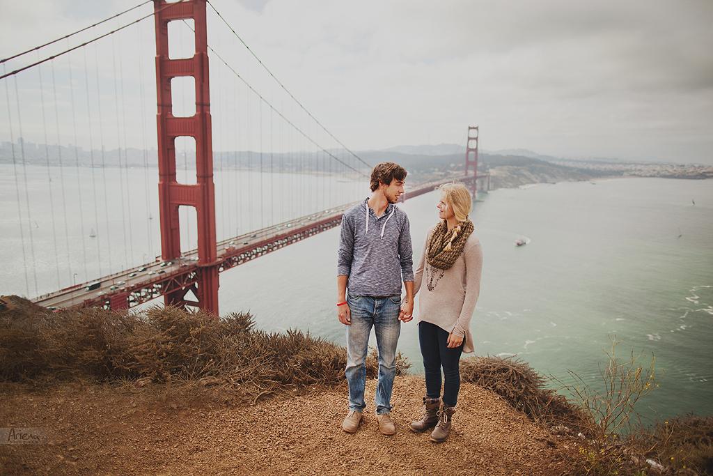 San Francisco Golden gate engagement session