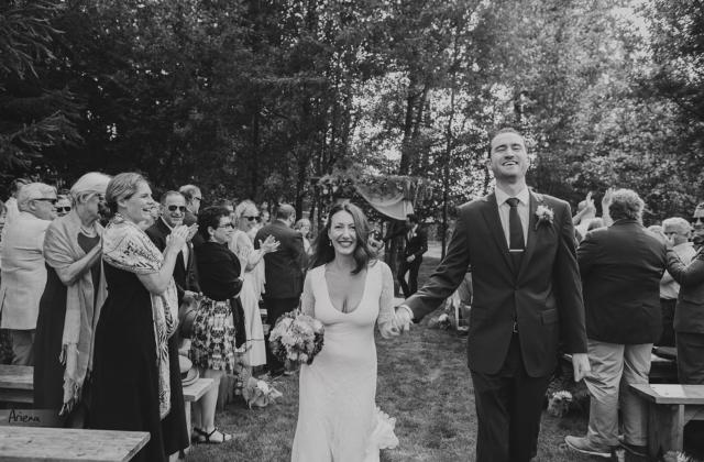 Red Cedar Farm elegant wedding. Sunny summer day on Bainbridge Island PNW